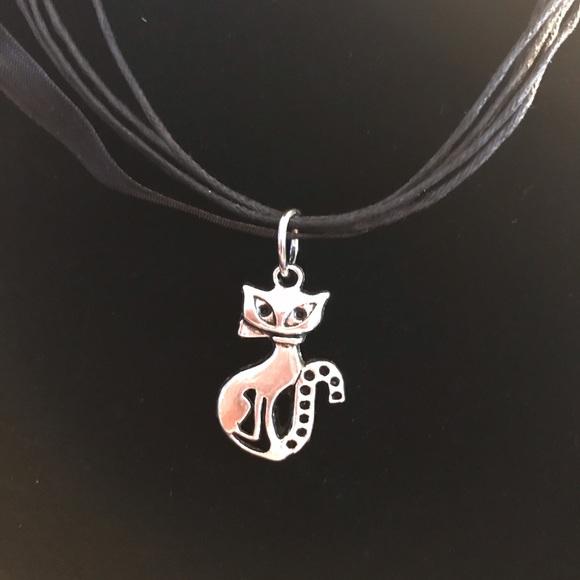 Stylish Healing Jewelry - Flirty and Smart Cat Necklace